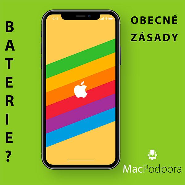 Nabíjení baterie iPhone