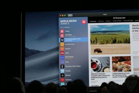 apple WWDC 2018 3635 450x300 - WWDC 2018 – souhrnný článek. Co všechno Apple představil?