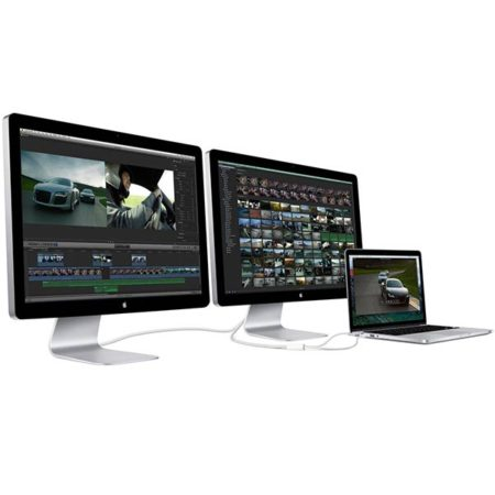 Více monitorů k počítači Mac
