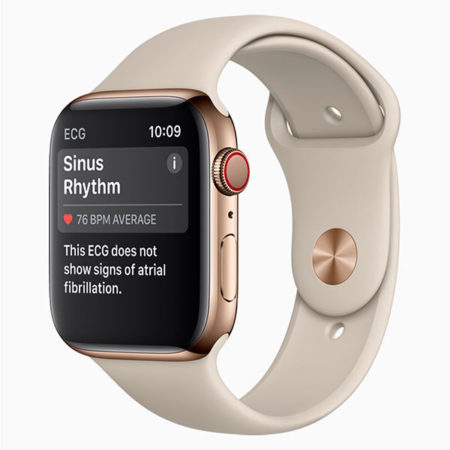 EKG Apple Watch Series 4, EKG Apple Watch 4, Apple Watch EKG