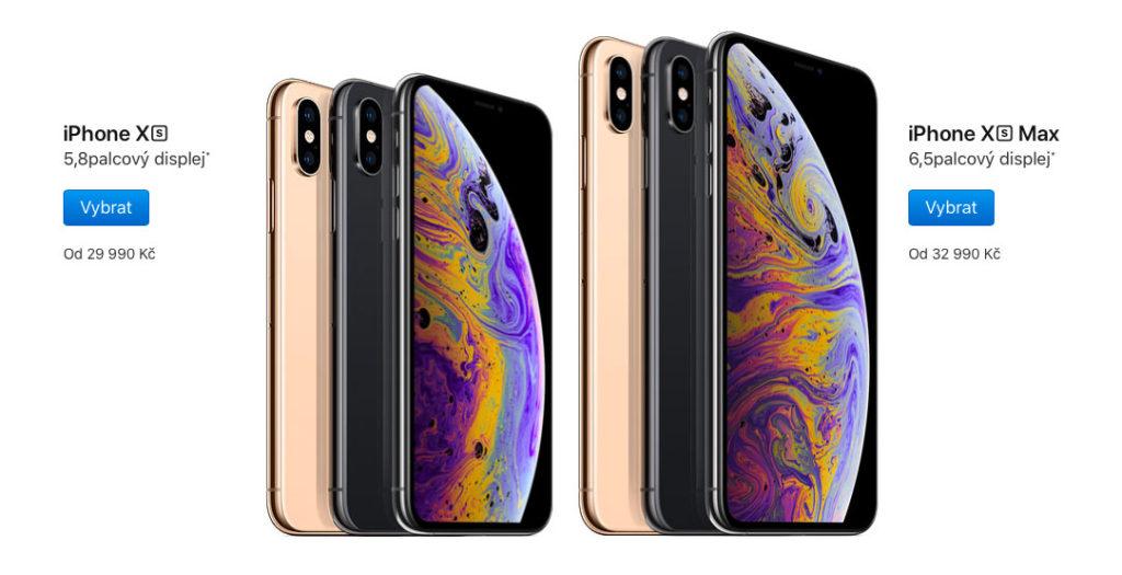 iPhone Xs cena
