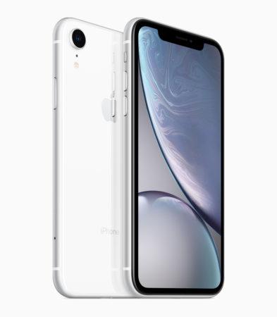 iPhone XR white back 09122018 393x450 - Rapid, Restore nebo Retard? Co ve skutečnosti znamená označení iPhone XR?