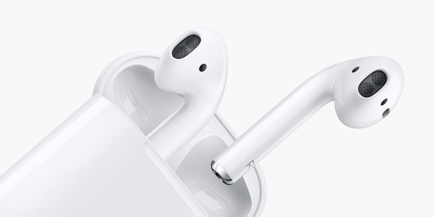 Bezdrátová sluchátka Apple levně