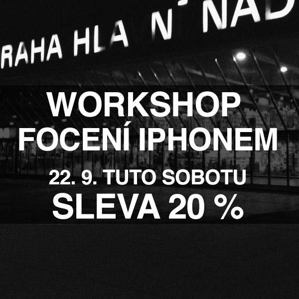 workshop focení iPhonem