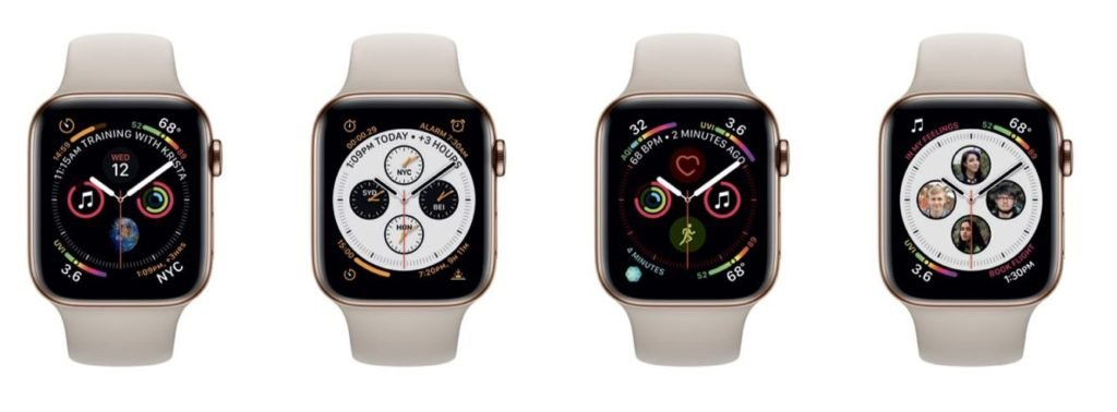 Apple Watch 4 komplikace