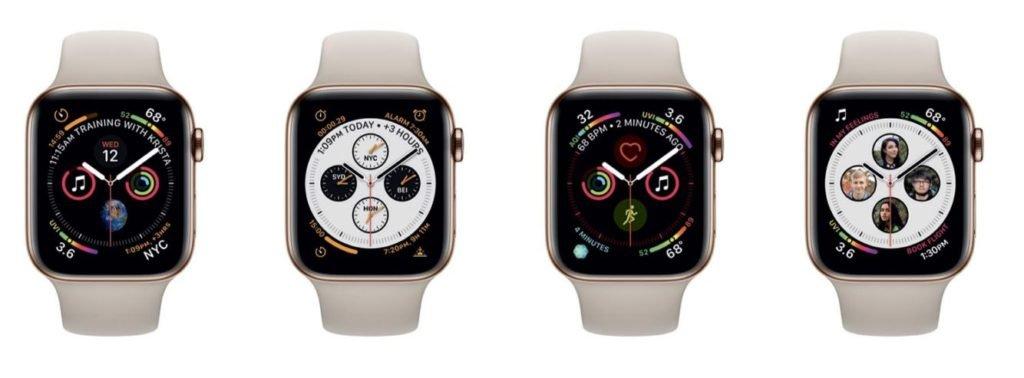 Apple Watch 4 komplikace