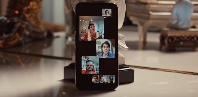 Skupinové FaceTime hovory