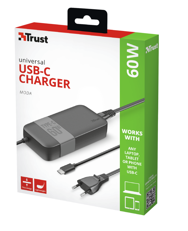 Trust Moda Universal 60W USB-C Charger