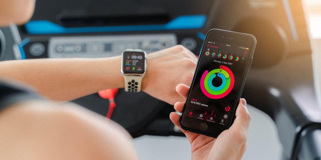 Apple Watch aktivita