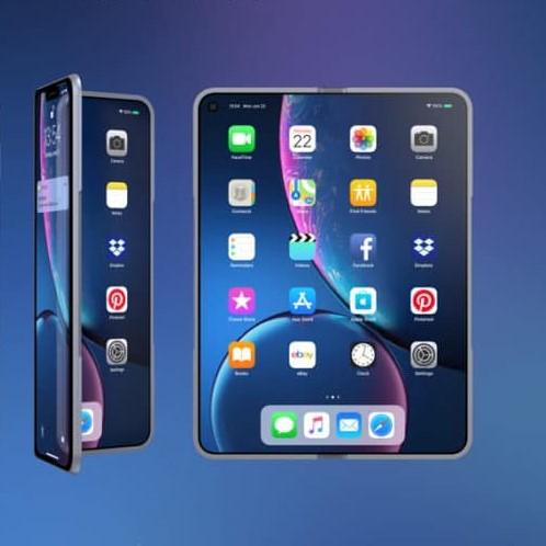 iphone x fold concept2 1 - Ohebný displej je budoucnost, říká spoluzakladatel Applu