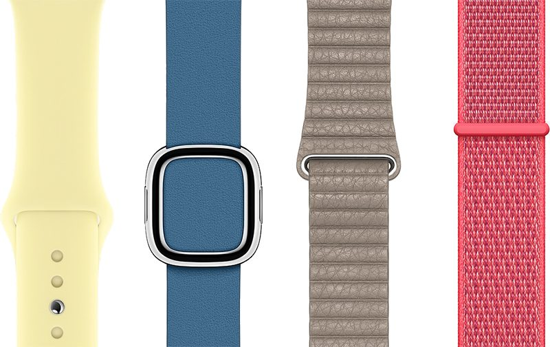 Apple Watch řemínky
