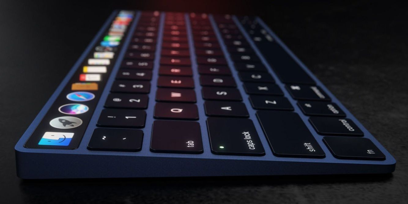 Touch Bar Magic Keyboard