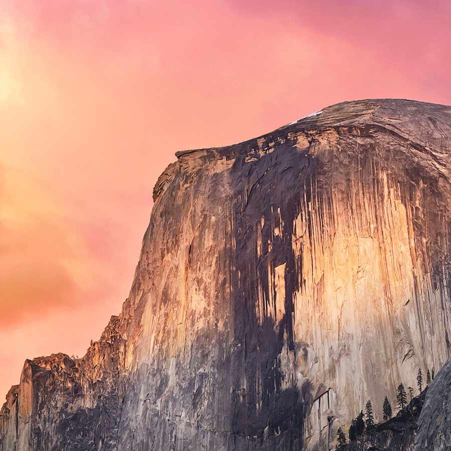 Tapety pro iPhone Yosemite