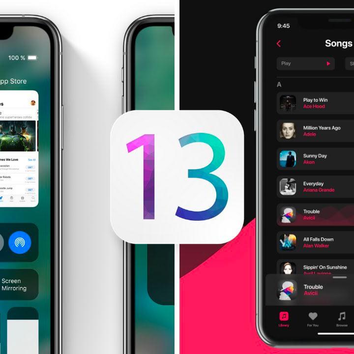 iOS 13 novinky, iPadOS 13