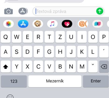 klávesnice iPhone