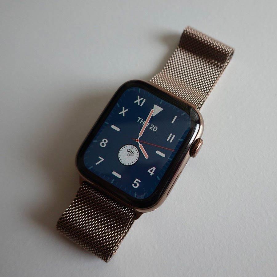 Apple Watch California - Nový ciferník California v systému watchOS 6 nabízí elegantní zobrazení