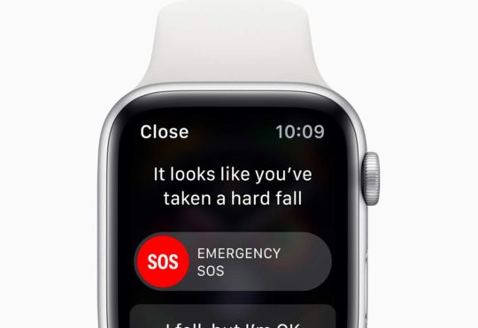 Apple Watch detekce pádů
