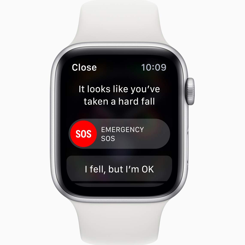 Apple Watch detekce pádů