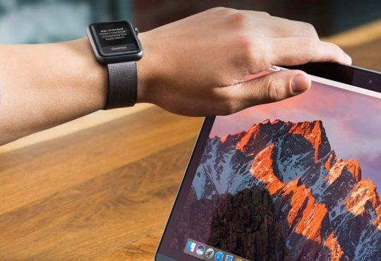 Jak odemknout Mac pomocí Apple Watch