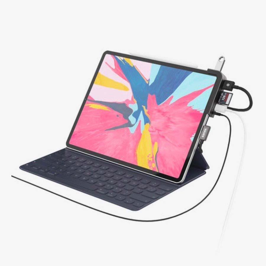 Kanex dokovací stanice - Dokovací stanice pro iPad Pro od Kanexu nabízí 6 portů