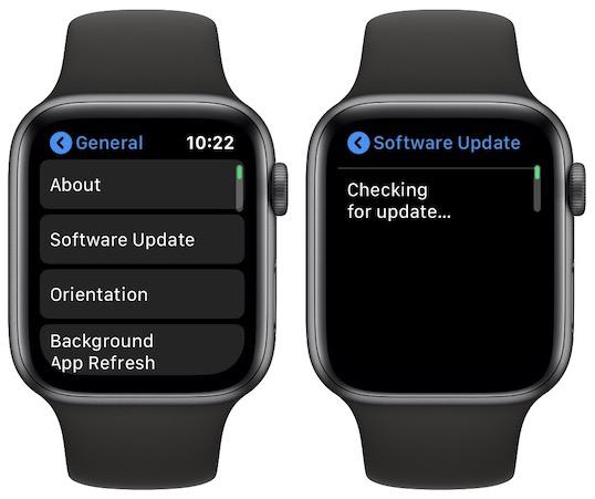 watchOS 6 aktualizace