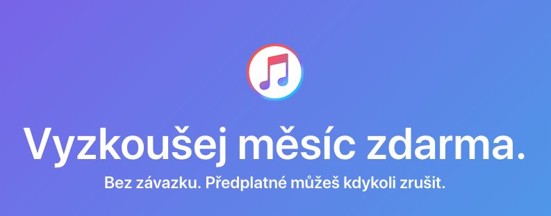 Zkušební doba Apple Music