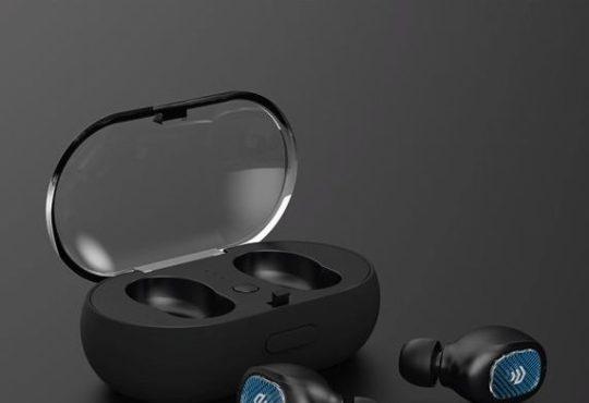 Bluetooth sluchátka špunty