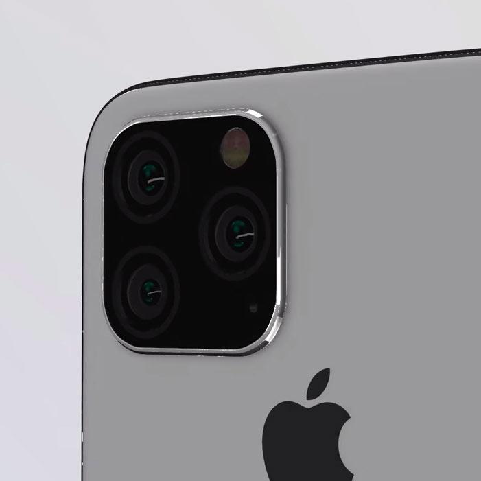 první rendery letošních iPhonů, iPhone XI