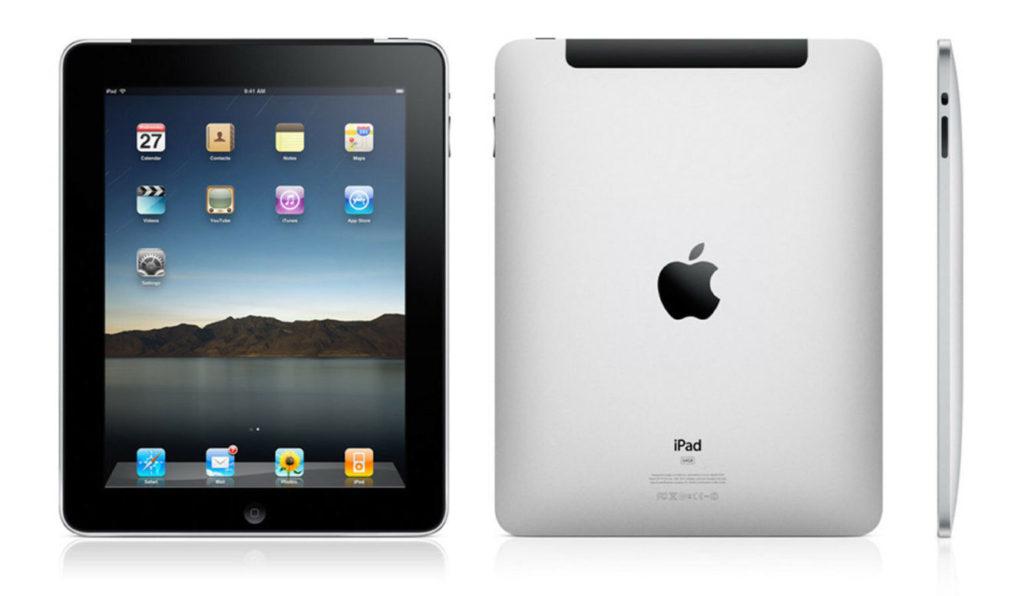 iPad1.generace uvedený vroce 2010