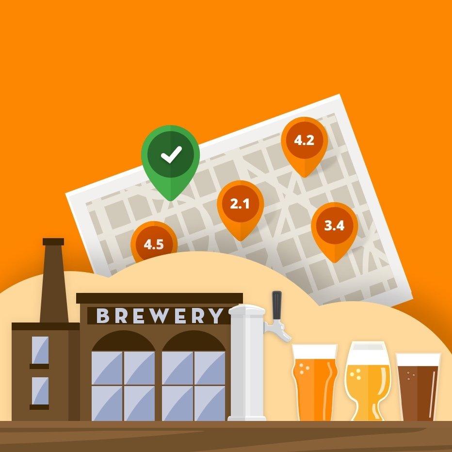 Aplikace Pivovary