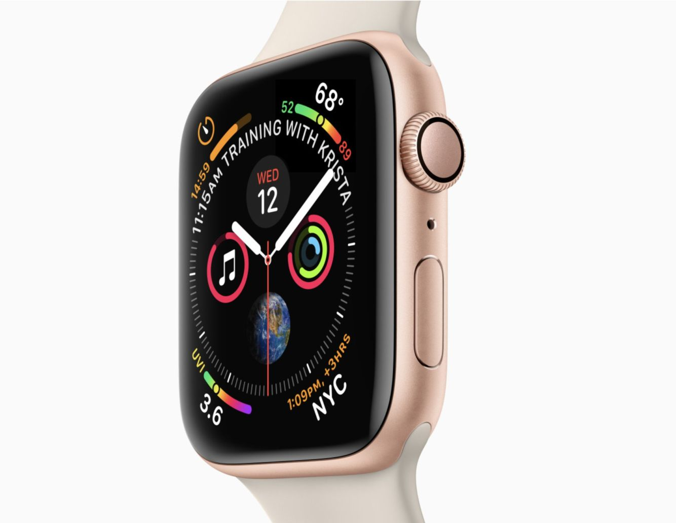 Nové Apple Watch, Apple Watch Series 4 44mm