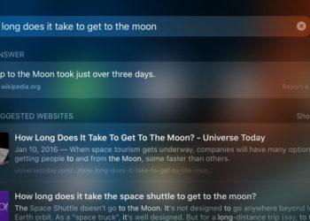 Odpovědi Siri