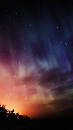 papers.co nb51 sky aurora night stars wonderful rainbow 33 iphone6 wallpaper 250x444 2 - Tapety pro iPhone ke stažení (20. 8. 2019)