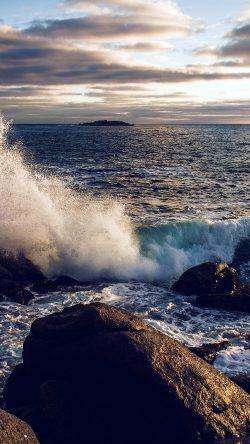 papers.co nj99 rock wave nature sea cold blue 33 iphone6 wallpaper 250x444 2 - Tapety pro iPhone ke stažení (26. 11. 2019)