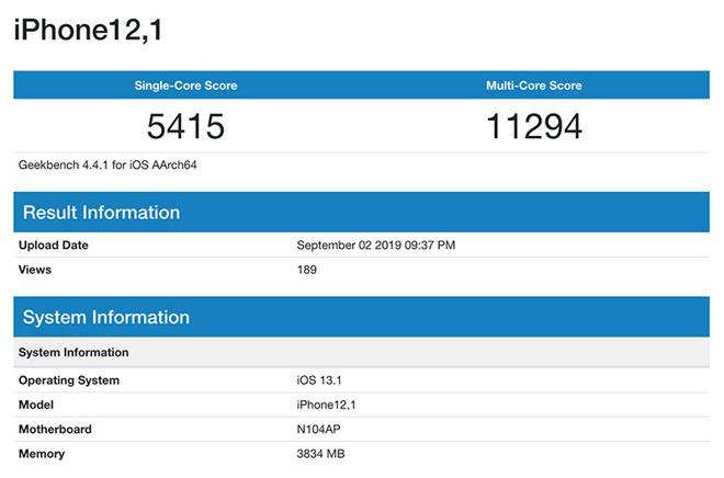 32627 56039 190903 iPhoneBenchmark l - iPhone XR 2. generace už se objevil v benchmark testu