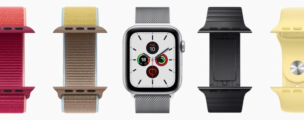 Snímek obrazovky 2019 09 10 v 22.22.10 1024x405 - Apple Watch Series 5 nabízí jen pár novinek. Cena zůstává stejná