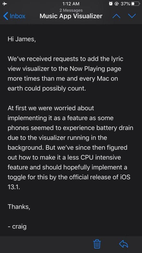 d494l4qljkl31 1 - Co přinese iOS 13? Odložení odeslání iMessage a vizualizace textu písní