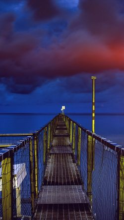 papers.co ni94 sea night blue dark bridge ocean flare 33 iphone6 wallpaper 250x444 3 - Tapety pro iPhone ke stažení (16. 9. 2019)