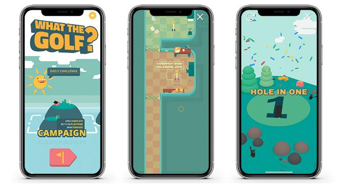 32997 57338 what the golf l - Nejlepší hry v Apple Arcade: vyzkoušejte tuhle pětici