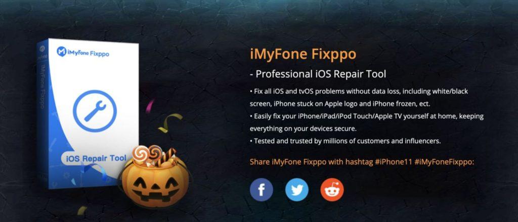 Snímek obrazovky 2019 10 31 v 1.25.28 1024x439 - iMyFone Halloween akce: Získejte nový iPhone 11 zdarma