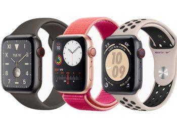 Srovnání Apple Watch 4 a 5