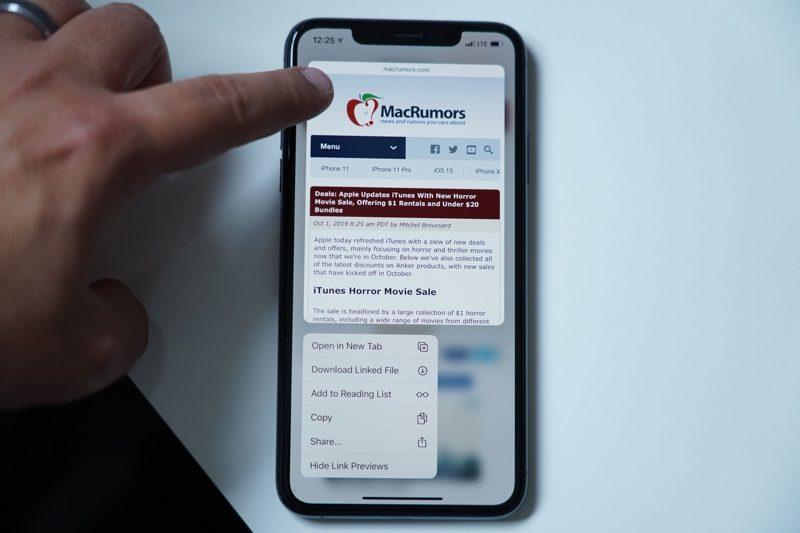 haptictouchsafari 800x533 - Haptic Touch vs 3D Touch: Jaký je mezi nimi rozdíl?