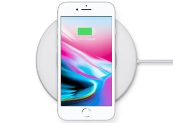 Bezdrátová nabíječka iPhone 8