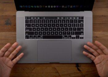 klávesnice MacBooku Pro 16, Nový 16palcový MacBook Pro