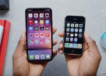 První iPhone vs iPhone 11 Pro
