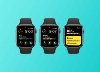 Apple Watch aplikace Hluk