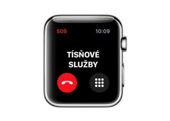 Detekce pádů na Apple Watch