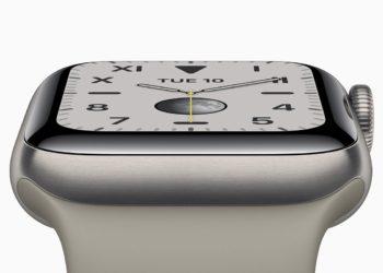 Apple Watch 5 titan