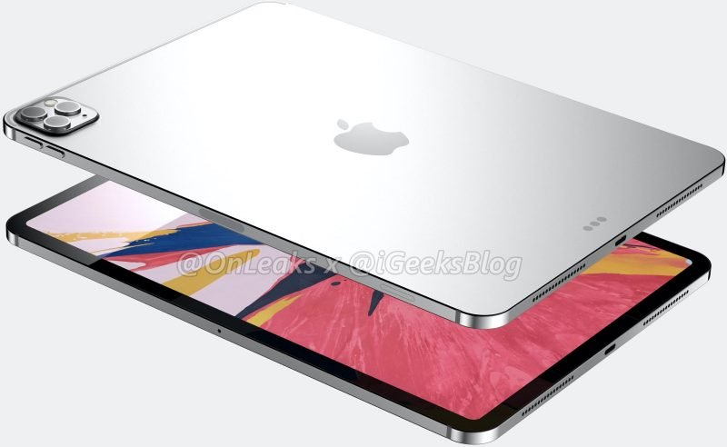 iPad Pro glass