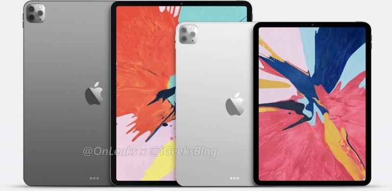 OnLeaks iPad Pro 2020